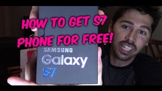 Download HOW TO GET S7 PHONE FOR FREE with T-mobile service (must keep line active for 2 years) Video
