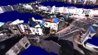 Download Immersive 3d reconstruction of a city from an omnidirectional video Video