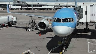 Download TRIPREPORT | TUI Airways Boeing 757-200 | EXTRA LEGROOM SEATS | Glasgow to Lanzarote Video