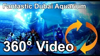 Download #360 Fantastic Dubai Aquarium and Underwater Zoo Share if you like! Video
