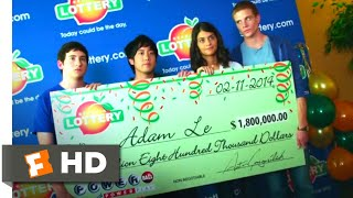 Download Project Almanac (2015) - Winning the Lottery Scene (4/10) | Movieclips Video