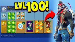 Download FORTNITE *NEW* SEASON 6 BATTLE PASS TIER 100 UNLOCKED! (How To Upgrade Skins) Video
