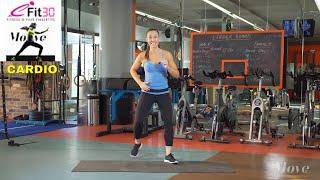 Download Cardio Basic Heart rate Happy - Vanessa Gospel - Move 123 Video