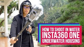 Download Shoot underwater 360 VR with Insta360 One underwater housing Video
