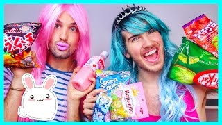 Download AMERICAN GIRLS TRY JAPANESE CANDY! Video