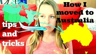Download How I moved to Australia + tips for moving overseas (requested vid) Video