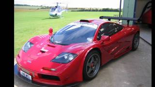 Download Nick Mason (Pink Floyd Drummer) Car Collection (Daytona LM, 250GTO, 512BBLM F1 and others) Video