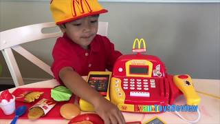 Download McDonalds Drive Thru Pranks Bad Kids Power Wheels Ride On Car w/ Happy Meal Spiderman Pretend Play Video