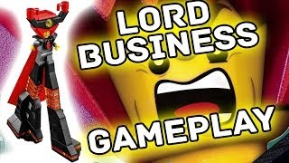Download Lego Movie - Lord Business Gameplay (Unlocked) Free Play + 10x Stud Multiplier Found! Video