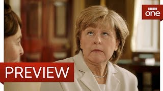 Download Angela Merkel's poker face problem - Tracey Breaks the News: Episode 1 Preview - BBC One Video
