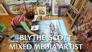 Download Blythe Scott: Mixed Media Artist Video