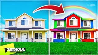 Download MOST COLOURFUL HOUSE IN THE WORLD! (House Flipper #6) Video