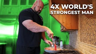 Download DAY IN THE LIFE OF A WORLDS STRONGEST MAN Video