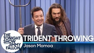 Download Trident Throwing with Jason Momoa Video