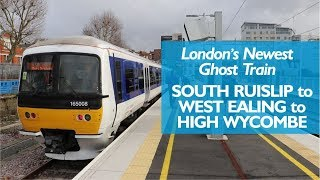 Download London's Newest Ghost Train : South Ruislip to West Ealing Video