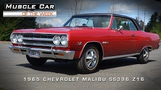 Download Muscle Car Of The Week Video #4: 1965 Chevrolet Malibu SS 396 Z16 Video