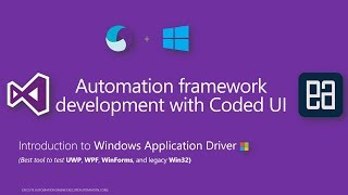Download Introduction to Windows Application Driver an Selenium like tools for Window app automation Video