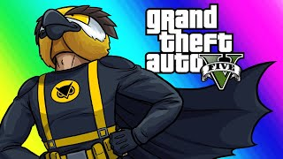 Download GTA5 Online Funny Moments - New Superhero Car and Fighting for Frank! Video