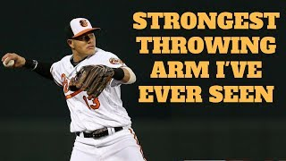 Download The Strongest Throwing Arm I've Ever Seen Video