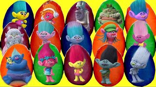 Download 30 TROLLS PLAY DOH SURPRSE EGGS with Poppy and Branch, Blind Bags, Mashems Fashems, TOY   TUYC Video