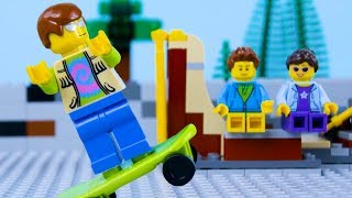 Download LEGO City Skate Park FailSTOP MOTION LEGO Arcade Fail Part 2 | LEGO City | By Billy Bricks Video