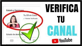 Download COMO VERIFICAR MI CANAL DE YOUTUBE: verificar cuenta de youtube, como verificar mi cuenta de youtube Video