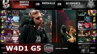 Download Misfits vs G2 eSports   Week 4 Day 1 S8 EU LCS Summer 2018   MSF vs G2 W4D1 Video