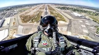Download F-15 Eagle Takeoff & Maneuvers • Cockpit View Video
