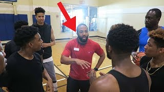 Download 3 VS 3 BASKETBALL GONE WRONG! 24 HOUR FITNESS CALLED THE POLICE AND KICKED US OUT! Zias Poudii DDG Video