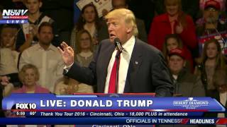 Download FNN: Donald Trump Thank You Tour 2016 - Cincinnati, Ohio 12/1/16 Video