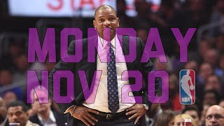 Download NBA Daily Show: Nov. 20 - The Starters Video