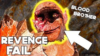Download Shadow Of War - This happens when Orc Fail on BLOOD BROTHER REVENGE! Pug The MEK MEK Story! Video