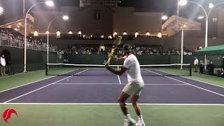 Download Nadal Intense Training Indian Wells 2019 Tennis - Court Level View Video