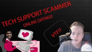 Download Tech Support Scammer Gets Mad and Signs up for Online Dating! Video