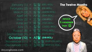 Download SINO-KOREAN NUMBER SYSTEM. Tell the Date in Korean! (KWOW#15) Video