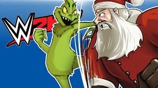 Download WWE 2K17 - SANTA VS THE GRINCH! (He stole my Elf!!) Video