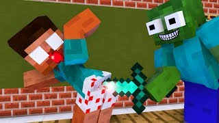 Download Monster School : Robbery Villager - Minecraft Animation Video