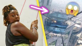 Download Women Face Their Fear Of Heights Video