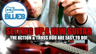 Download Adjusting the Action and Truss Rod on a New Electric Guitar Video