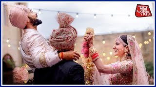 Download Virat Kohli and Anushka Sharma Tie Knot in Italy's Tuscany, Post Adorable Pics Video