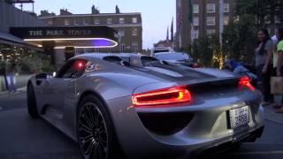 Download Arab Porsche 918 SPYDER driving in London! Video
