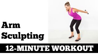 Download 12 Minute Arms, Upper Body Exercises | Full Length Strength Home Workout Video