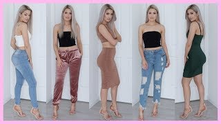 Download FASHION NOVA TRY ON CLOTHING HAUL | HANNAH SCHRODER Video