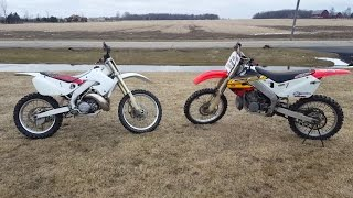 Download Honda Cr 250 vs Honda Cr 250!!! Video