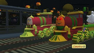 Download Halloween with Humpty the train for kids | for children | happy halloween | kindergarten | Kiddiestv Video
