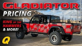 Download Jeep Gladiator Pricing, Gladiator in the Crusher & King of the Hammers - Jeep News Video