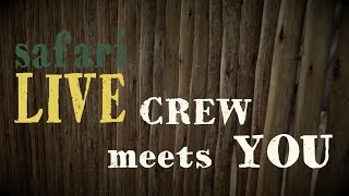 Download #safariLIVE Crew meets you: Cheryl Pincus Video