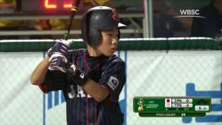 Download Highlights: Japan v Chinese Taipei - WBSC U-12 Baseball World Cup 2017 Video