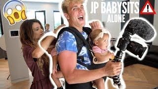 Download JAKE PAUL BABYSITS OUR GIRLS ALONE AT TEAM 10 HOUSE (UNBELIEVABLE) Video