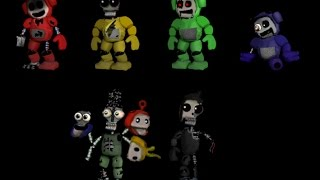 FNaF SONG II All Adventure JOLLY character's Voices Free